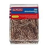 Herlitz - Caja de clips (250 unidades, 50 mm)