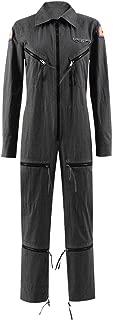 Dahee Ellen Cospaly Costume Womens Pilot Zipper Jumpsuits Uniform Outfit for Halloween