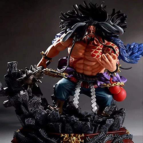 Ltong Anime One Piece Gk Kaido Figura de acción Fighting Ver Toy 19Cm