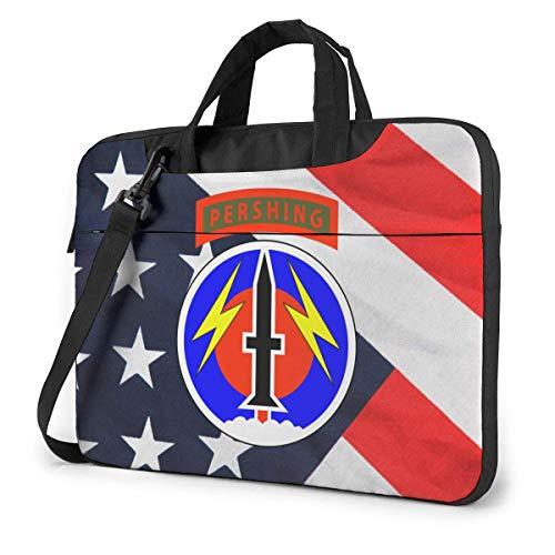 56. Feld Artillerie Befehl Laptop-Tasche Umhängetasche Computer-Tasche Aktentasche Tasche geneigte Umhängetasche
