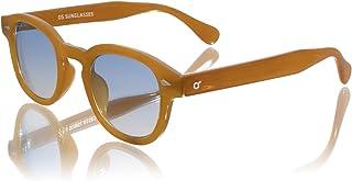 Generico OS SUNGLASSES Lunettes de soleil unisexe adulte style Moscot – Lentille ovale brillante UV400 – Trend été 2021