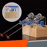 LaDicha 1 Set DIY Barco Hélice Kit Watercraft Motor Eje Modelo RC Hobby Mano Aprendizaje Juguete