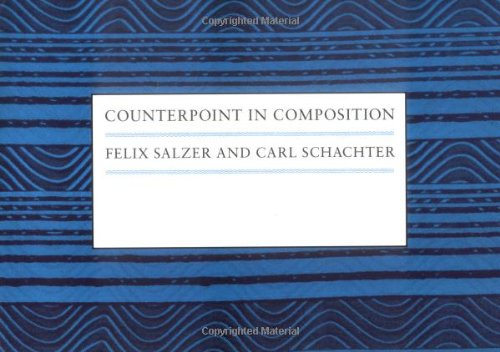 Counterpoint in Composition: The Study of Voice Leading