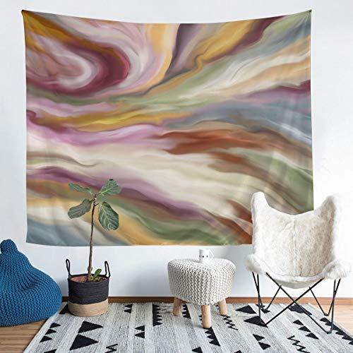 Tapiz para colgar en la pared para niños, niños, niñas, arte abstracto, manta de pared, ultra suave, colorida, decoración de ropa de cama, manta extragrande de 69 x 91