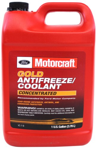 Genuine Ford Fluid VC-7-B Red Concentrated Antifreeze/Coolant - 1 Gallon (Packaging may vary)
