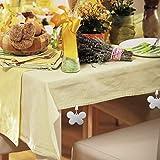 Relaxdays 8er Set Tischdeckenbeschwerer, Tischtuchhalter zum Beschweren, Schmetterling, In-& Outdoor, Edelstahl, Silber, 8 Stück - 2