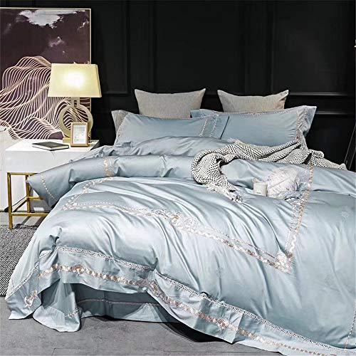 KYEEY Quilt Set Vier Sätze Bettwäsche Leinen Set Kissenbezug Einfache ägyptische Baumwolle für Home Interior Home Bettwäsche Bettwaren Artikel (Size : 1.8m)