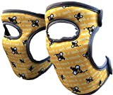 Bee's Knees Cleaning Knee Pads! Great Gift with Soft Foam and NEW LONGER Adjustable Straps, Durable...
