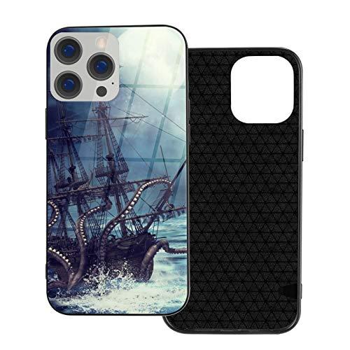 海賊船の夜景 Iphone 12 Pro/Pro Max ケース Iphone 12 Mini 耐衝撃 超耐磨 軽量 四隅滑り止 ワイヤレス充電 対応 アイフォン12 ケース スマートフォンケース 全面保護 でおしゃれに可愛く Diy