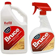 Easy to use, Use refill to pour into existing Bruce Spray bottle or empty clean one For No-Wax Finished floors. Safely Cleans without being harmful to the environment