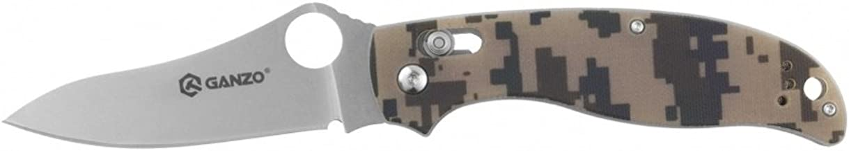 Ganzo G733-CA • Folding Pocket Knife Everyday Carry EDC • Overall Lenght: 8.27in • PTM-us.