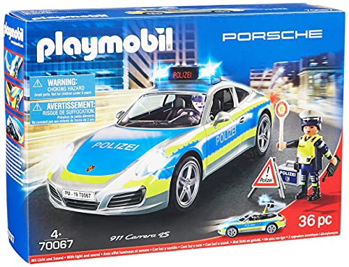 Preisvergleich Produktbild PLAYMOBIL City Action 70067 Porsche 911 Carrera 4S Polizei
