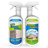 FOLLOWIN Professional Household Stain Cleaner Mold and Mildew Stain Cleaner Spray for Tiles Grout Sealant Bath Sinks Showers, 48oz