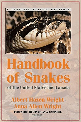 Handbook of Snakes of the United States and Canada: Two-Volume Set (Comstock Classic Handbooks)