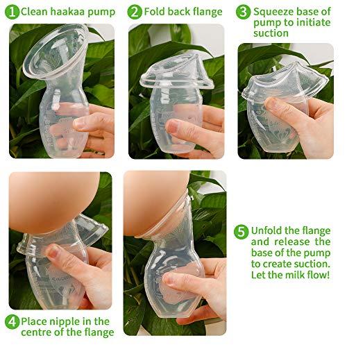 Haakaa Manual Breast Pump 4oz/100ml, New Style