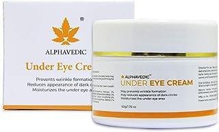 ALPHAVEDIC CORPORATION LLP Under Eye Cream to Reduce Dark Circles, Puffy Eyes, Wrinkles, Dullness and Nourish the Skin (50 g)
