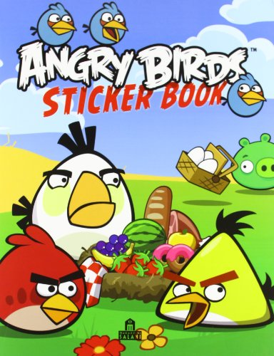 Angry birds. Sticker book. Con adesivi. Ediz. illustrata