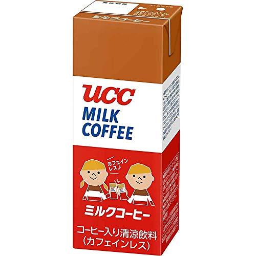 [訳あり(賞味期限2021年1月25日)] UCC ミルクコーヒー AB 200ml ×24個 デカフェ・ノンカフェイン