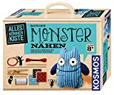 KOSMOS AllesKönnerKiste Monster nähen für Anfänger – DIY-Bastelset für Kinder ab 8 Jahren