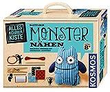KOSMOS AllesKnnerKiste Monster nhen fr Anfnger  DIY-Bastelset fr Kinder ab 8 Jahren  das ideale Geschenk fr den Kindergeburtstag