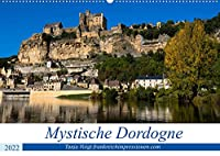 Mystische Dordogne (Wandkalender 2022 DIN A2 quer): Eine Region voller Burgen und Schloesser und praehistorischen Staetten in einer atemberaubender Natur - das ist die Dordogne (Monatskalender, 14 Seiten )
