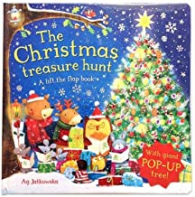the christmas treasure hunt a pop up book