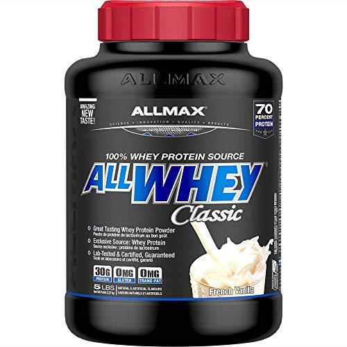 ALLMAX Allwhey Classic Vanilla 5 Lbs, 227 g