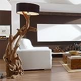 Standlampe Holz Teak RIAZ XL 200cm