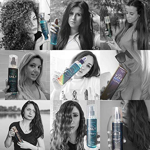 YoungHair The Salt Water Spray – Salzspray – Salzwasser – Meersalz Haarspray | mehr Textur, Volumen Haar | Feiner Sprühnebel & Styling Lotion für einen zerzausten Haarlook | Sulfat-Frei & Paraben-Frei | 250 ml - 6