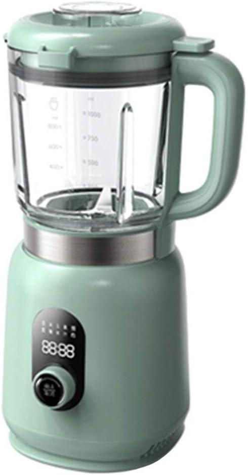 middle Licuadora Prensado En Frio, Licuadora Frutas Verduras,Fácil De Limpiar,120℃ High Temperature Resistance,220V,Bebida Caliente 800 Ml