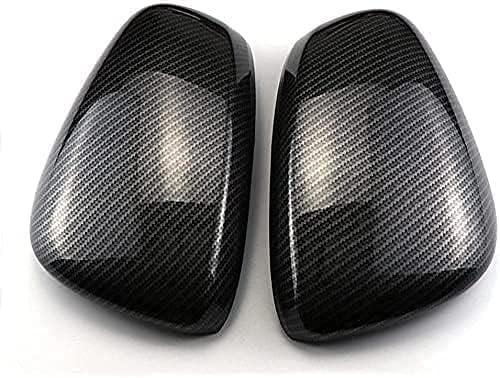 1 Pair Carbon Fiber Door Mirror Kadjar Re-nault for Caps Covers quality assurance Columbus Mall