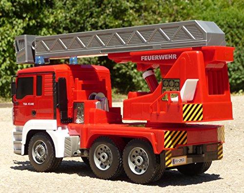 RC Auto kaufen Feuerwehr Bild 5: RC FEUERWEHR LKW MAN mit 7 Funktionen 35cm Ferngesteuert 2,4GHz*