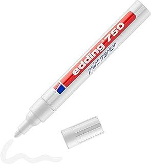 Edding marker permanentny 2 - 4 mm - biały