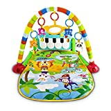 UNIH Baby Gym Play Mats, Kick and Play Piano Gym Activity Center...