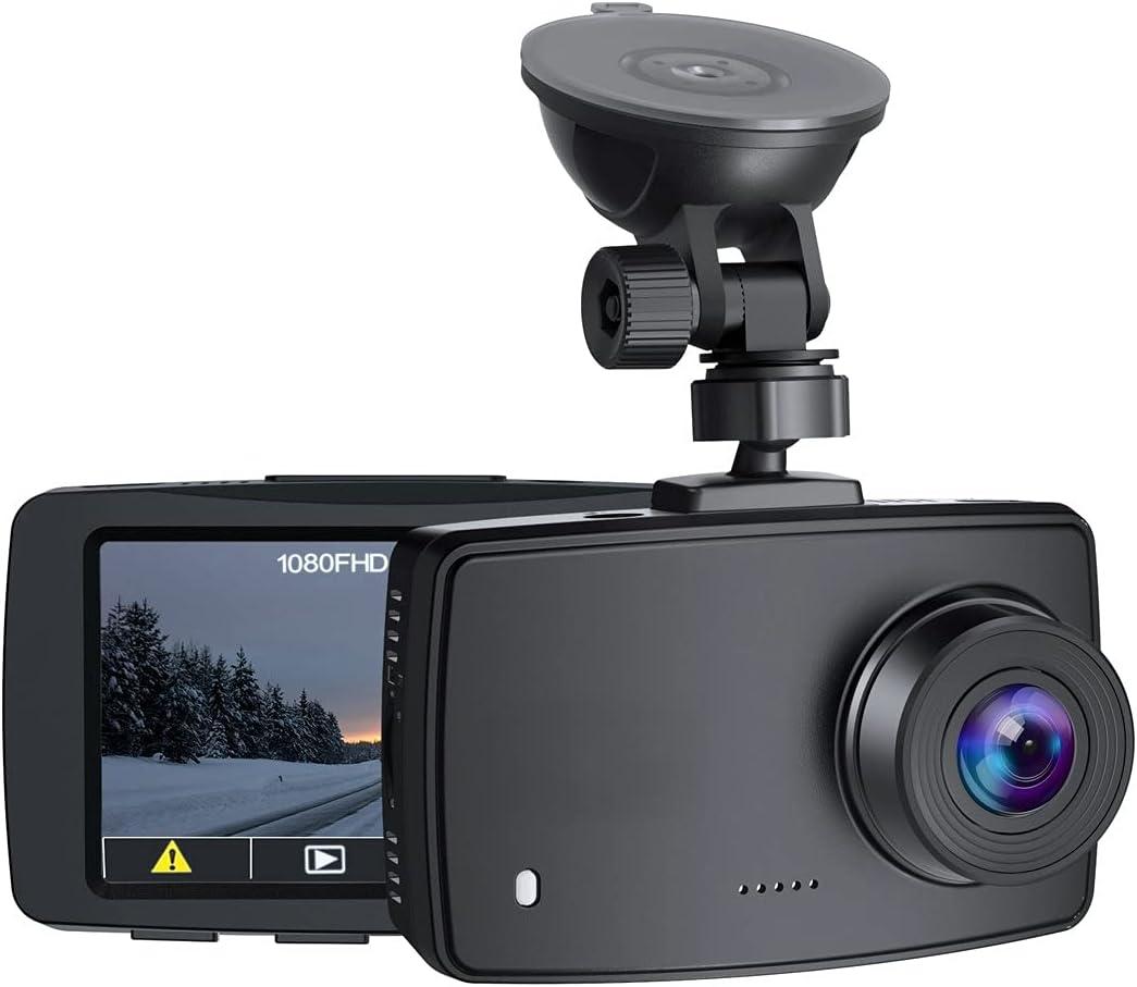 """FTI DRA1 1080p 2.7"""" LCD Screen Dash Cam  $20.57 Coupon"""