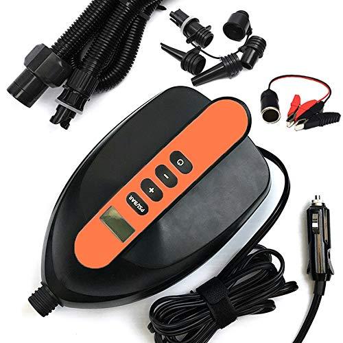 Huante Tragbare elektrische Auto-Luftpumpe für Paddle-Board und Boot, Luftmatratze für Kajak Stand Up Paddle Board