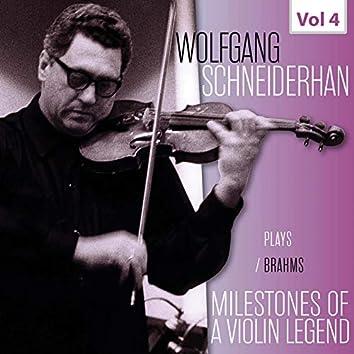 Milestones of a Violin Legend: Wolfgang Schneiderhan, Vol. 4