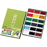 Zig Kuretake Gansai Tambi 18 Color Set-