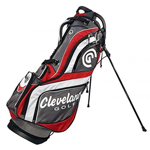Cleveland C0089709 Sac de Golf pour Homme Marron/Rouge/Blanc...