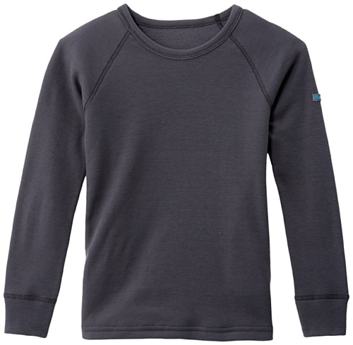 Odlo Warm T-Shirt manches longues enfant India Ink FR : 10 ans (Taille Fabricant : 140)
