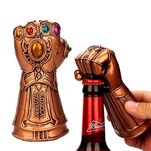 Bier Flaschenöffner Unendlichkeit Thanos Gauntlet Glove Soda Glass Caps Remover Stiel Hammer of Thor Shaped Bier-Öffner