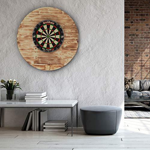 Runstyle Deluxe Holz Design Dart Wandschutz - 7