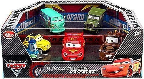 de moda Disney   Pixar CARS CARS CARS 2 Movie Exclusive Die Cast Car 6Pack Playset Team McQueen by Disney  artículos de promoción