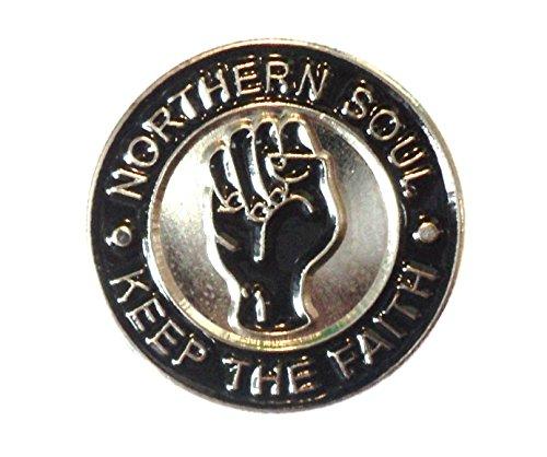 Mainly Metal Badge en émail avec point levé reggae Inscription Northern Soul