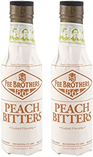 Fee Brothers Peach Cocktail Bitters - 5 oz - 2 Pack