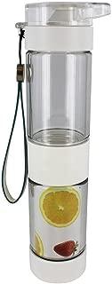 Define Fruit Infusion Bottle Sport Flip Top, White, 16 Ounces