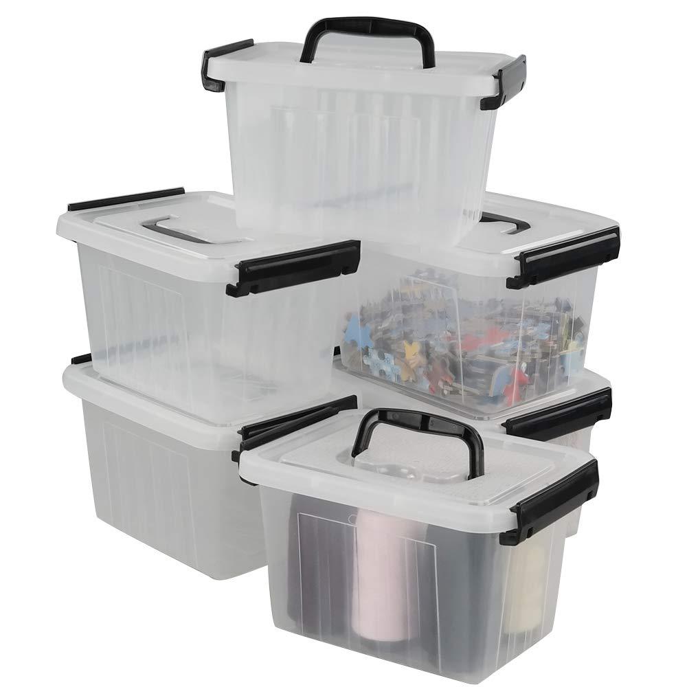 Lesbin Small Plastic Storage 6 Pack