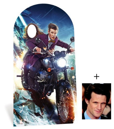 Fan Pack - The Doctor and Clara Oswald Lifesize Cardboard Stand-in Cutout - Includes 8x10 (20x25cm) Star Photo