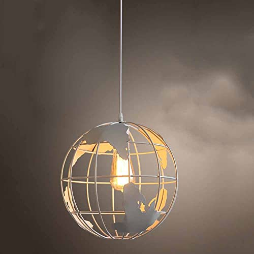 WTL lumièreing Nordic Fer Spherical Globe Chandelier Bar Restaurant Cafe Magasin De VêteHommests Chandelier (Couleur   1)