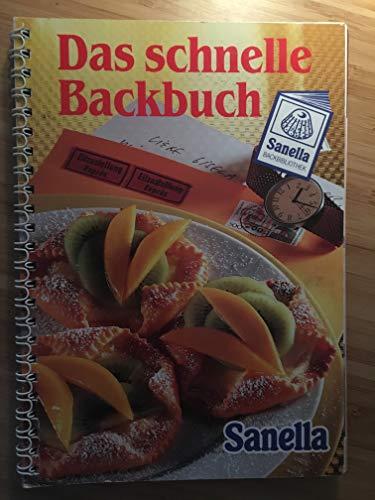 Sanella Backbibliothek Das schnelle Backbuch